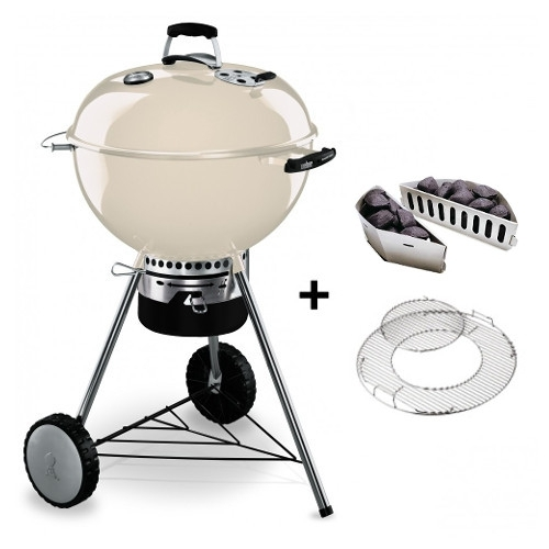 Weber Gril MASTER-TOUCH® GBS 57 cm Ivory - KRÉMOVÝ